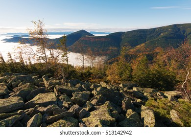 autumn landscape in mountains