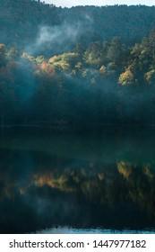 Autumn landscape in Seven lakes (Yedigoller) National Park - Bolu, Turkey