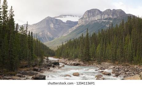 Autumn Landscapes in Banff National Park, Canada.