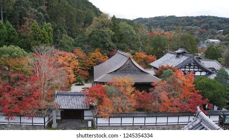autumn leaves at Nanzen-ji temple