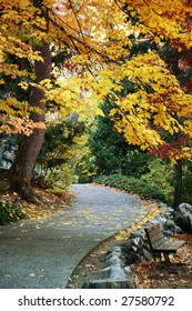 Autumn in Lithia Park - Ashland