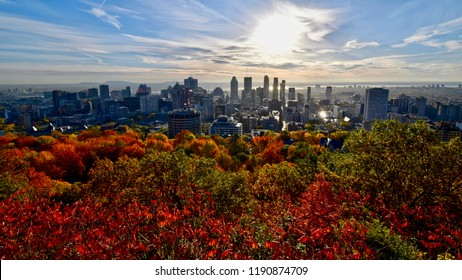 Autumn in Montreal, Quebec, Canada