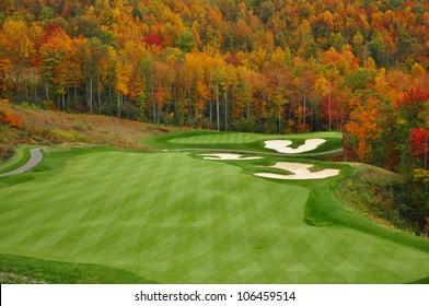 Herbstberg-Golfplatz