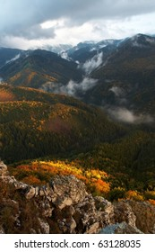 autumn, mountains and light