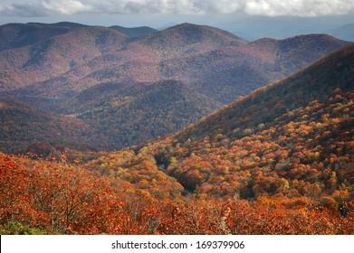 Autumn in the North Georgia Mountains
