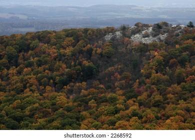 Autumn overlook in Pennsylvania