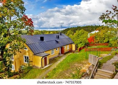 Autumn in Porvoo. Finland