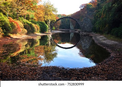 Autumn Rakotzbrucke in Germany