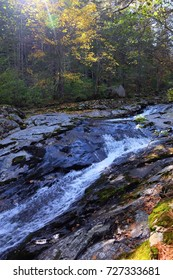 Autumn, rocks, stones, forest. Smolny River. Primorye. Russia.