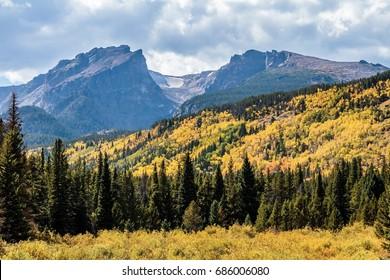 Autumn at Rocky Mountain National Park Colorado