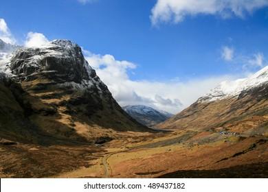 Autumn in the Scotland Highlands