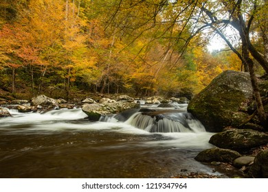 Autumn in Smoky Mountains National Park Tennessee