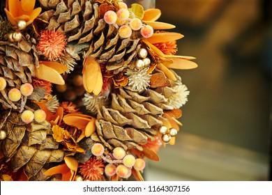 Autumn theme decoration