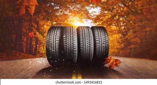 autumn - time to change tires on winter tires