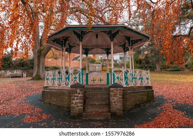 autumn time in Guildford Park in Surry ,England.