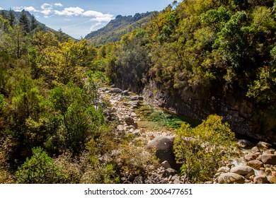 Autumnal landscape in Peneda Geres National Park, Portugal
