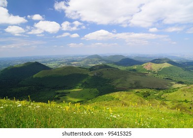 Auvergne Volcano national park, UNESCO heritage, France