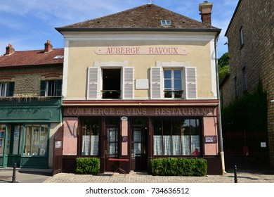 Auvers sur Oise , France - july 26 2017 : the Auberge Ravoux where Van Gogh died in 1890