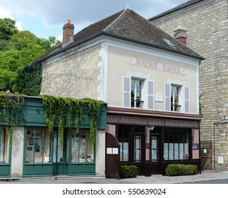AUVERS-SUR-OISE, FRANCE - JULY 14, 2016: Auberge Ravoux, hotel where Vincent van Gogh, the famous Dutch post-impressionist painter, spent the last months of his life, now museum and tourist attraction