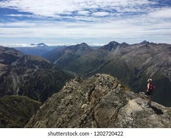Avalanche Peak New Zealand