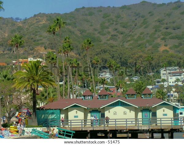 Avalon harbor Catalina