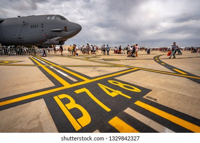 Avalon, Melbourne, Australia - Mar 3, 2019: US military cargo plane