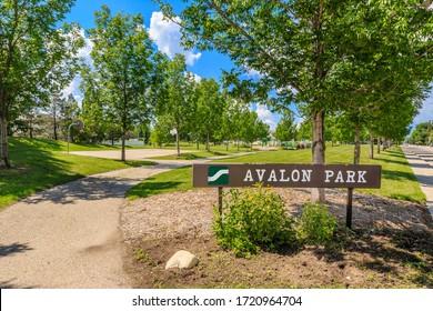 Avalon Park is located in the Avalon neighborhood of Saskatoon.