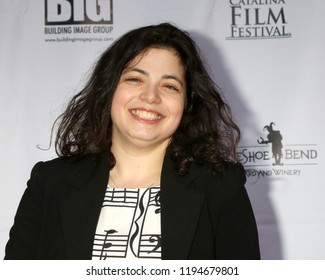 AVALON - SEP 28:  Nami Melumad at the Catalina Film Festival - Friday Red Carpet at the Casino on September 28, 2018 in Avalon, CA