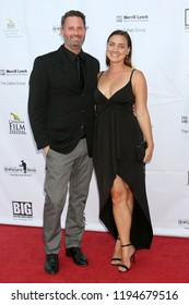 AVALON - SEP 29:  Aaron Goldberg, Jessica Schreiner at the Catalina Film Festival - Saturday Red Carpet at the Casino on September 29, 2018 in Avalon, CA