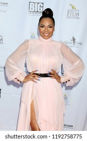 AVALON - SEP 29:  Ashanti at the Catalina Film Festival - Saturday Red Carpet at the Casino on September 29, 2018 in Avalon, CA