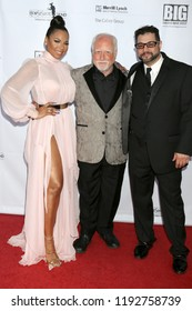 AVALON - SEP 29:  Ashanti, Richard Dreyfuss, Ron Truppa at the Catalina Film Festival - Saturday Red Carpet at the Casino on September 29, 2018 in Avalon, CA
