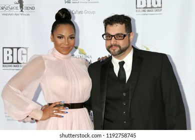 AVALON - SEP 29:  Ashanti, Ron Truppa at the Catalina Film Festival - Saturday Red Carpet at the Casino on September 29, 2018 in Avalon, CA