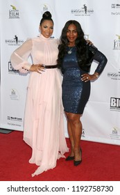 AVALON - SEP 29:  Ashanti, Tina Douglas at the Catalina Film Festival - Saturday Red Carpet at the Casino on September 29, 2018 in Avalon, CA