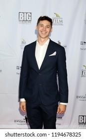AVALON - SEP 29:  Benjamin Caro at the Catalina Film Festival - Saturday Red Carpet at the Casino on September 29, 2018 in Avalon, CA