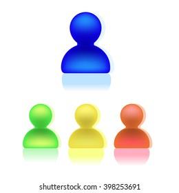 avatar, people icon set
