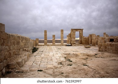 Avdat - the central city of the Nabateans was on the trade route, called the Road of Incense.