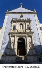 AVEIRO, PORTUGAL - Feb 19, 2020: Igreja da Misericórdia (The Church of Mercy) in Aveiro, Portugal, Europe
