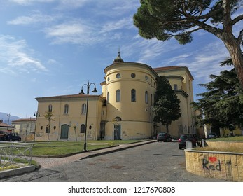 Avellino - Rear exterior of the Cathedral of Santa Maria Assunta and San Modestino