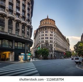 Avenida Roque Saenz Pena - Buenos Aires, Argentina