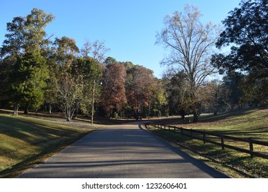 Avent Park road in Oxford Mississippi
