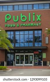 AVENTURA, FL, USA - JANUARY 22, 2019: Publix Aventura Florida stock image