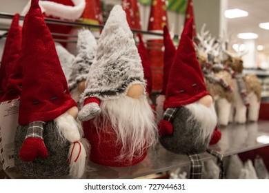 Little Girl Santa Claus Hat Teddy Stock Photo (Edit Now