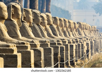 Avenue of the Sphnixs, Luxor Temple, Egypt