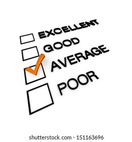 Average Customer Service Evaluation