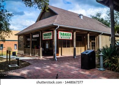 Avery Island, LA, USA - Jan 14, 2017: The publicly open Tabasco Museum