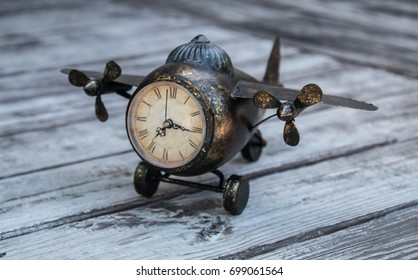 Aviation Clock Home Decor For Office And Kids Room