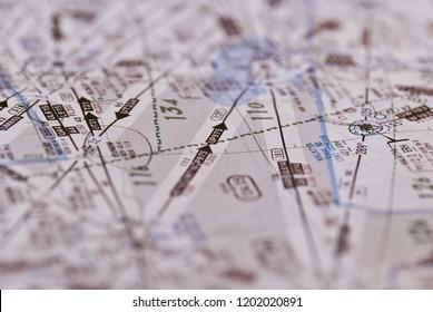 Aviation Map for Flight