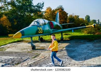 Aviation Museum in Kiev, October 30, 2018