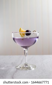 The Aviation, prohibition era cocktail