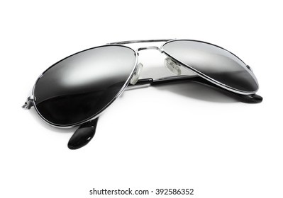 Aviator sunglasses. isolated on white